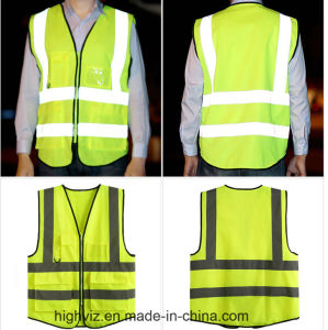 High Visibility Vest with ANSI07 Certificate (C2525) pictures & photos