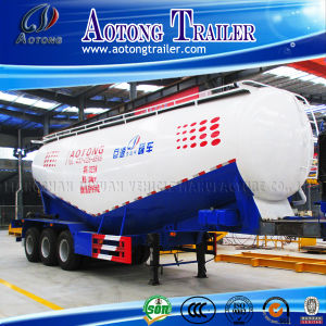 3 Axle 40cbm Cement Bulker Tank Semi Truck Trailer pictures & photos