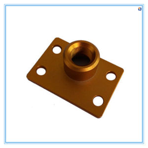 Highly Surface Treatment Machined Part for Base Plate pictures & photos