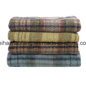 Woven Woollen Pure Virgin Wool Blanket pictures & photos
