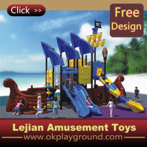 CE High Quality Plastic Children Outdoor Amusement Playground (X1438-10) pictures & photos