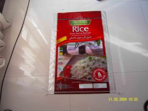 Practical and Durable 50kg PP Rice Bag pictures & photos