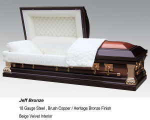 Jeff Bronze Casket