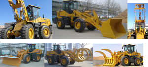 Yineng 3 Ton Wheel Loader Yn935 pictures & photos