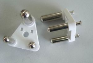 3 Pin India Cable Plug Insert (MA008) pictures & photos