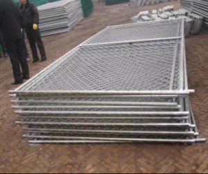6′high X10′wide American Standard Chain Link Temporary Fence with Stand pictures & photos