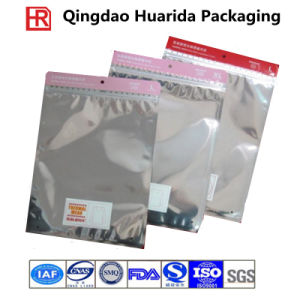 Customized Plastic Zipper Tee Shirt Packaging Bag pictures & photos
