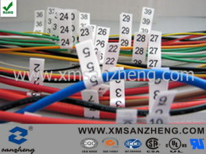 Customized Cloth Electric Wire Stickers pictures & photos