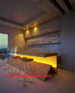 Mordern Artificial Marble Restaurant Bar Counter Design pictures & photos