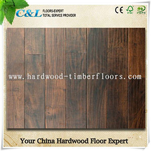 Popular Handscraped Acacia Engineered Wood Flooring