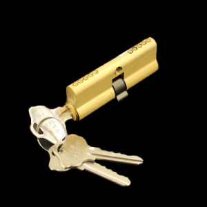 Double Open 68mm S-Groove Key Door Lock pictures & photos