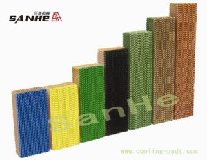 Water Wet Corrosion-Resistant Evaporative Cooling Pad (7090/7060/5090type) pictures & photos
