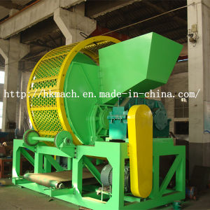 Waste Tire Shredder with CE Certification