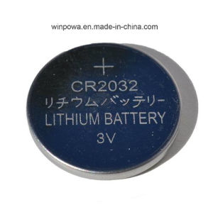 Hot Sell Car Alarm 3V Lithium Battery (CR2032) pictures & photos