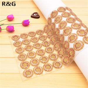 24*40 Hot Fix Rhinestone Trimming Mesh Sheet for Women′s Dress pictures & photos