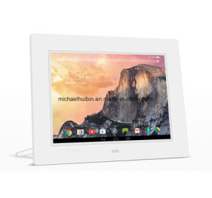 8inch LCD Screen WiFi Digital Frame Network Ad Player (A8001) pictures & photos