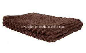 Home Fashions Popcorn Bath Rug, 60cm by 40cm, Chocolate pictures & photos