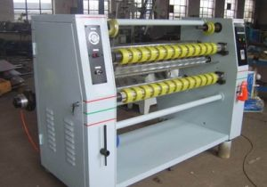 Rtgl-1600 Automatic High Speed Cellophane Packing Tape Cutting Machine pictures & photos