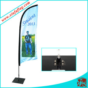 Advertising Outdoor Display Feather Flag Banner pictures & photos