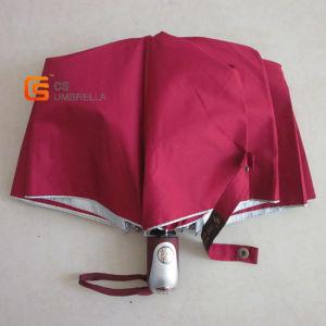 Auto Open and Close 3 Folding Outdoor Advertising Umbrella (YSF3028B)