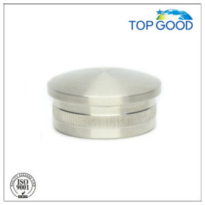 Stainless Steel Arc Solid End Cap (60110) pictures & photos