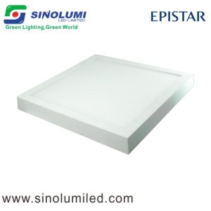 Square 320mm Surface Mounted LED Panel Light 21W