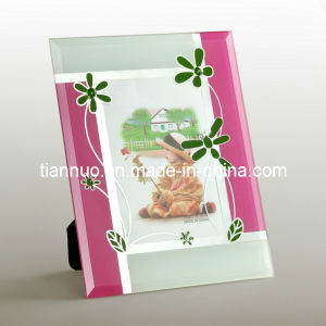 Silk Printing Glass Photo Frame (DZ021)