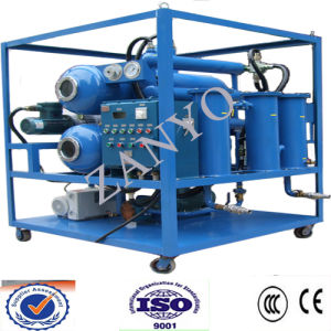 Double Stages Pump High Vacuum Transformer Oil Purifier pictures & photos