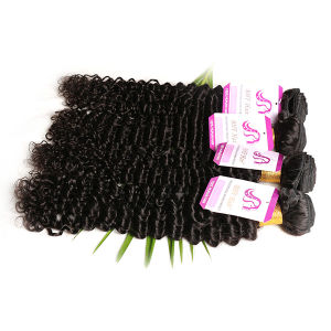 Brazilian Virgin Hair 3PCS Brazilian Body Wave Human Hair Weaves Dark Brown Light Brown #2, #4 Hair Extension pictures & photos
