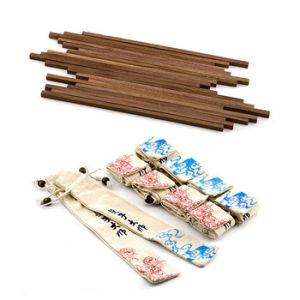 Ceylon Iron Wood Chopstick Blanks & Sleeves (Set of 10) pictures & photos