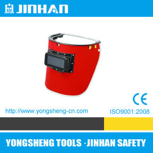 Jinhan High Quality Welding Mask Red Steel Paper (M-4012)