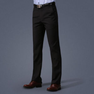 OEM Manufacturer Men Slim Fit High Quality Chinos Long Pants pictures & photos