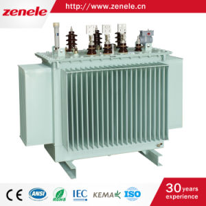 High Voltage 10kv Oil Type Silicon Steel Power Transformer pictures & photos
