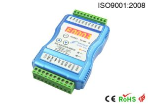4 Channels 0-5V 0-10V 0-75mv 4-20mA to Modbus Protocol RS232 RS485 Converter with LED Display pictures & photos