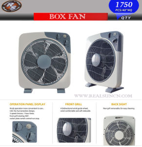 14inch Box Fan with High Level Quality Fan pictures & photos