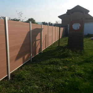 Horse Farm Fence, WPC Aluminium Wood Fence Railing pictures & photos