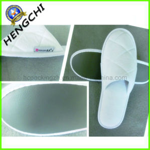 Coral Fleece Winter Slipper with PU Sole pictures & photos