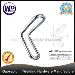 Stainlesss Steel Glass Door Handle / Shower Handle Wd-1001 pictures & photos