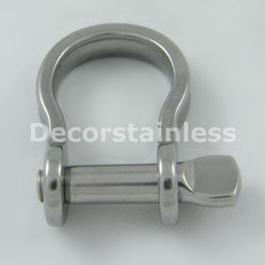 Stainless Steel 316 4mm Stamped Bow Shackle pictures & photos