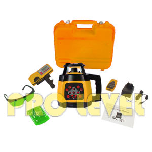 High Precision Electronic Leveling Green Rotary Laser Level (SRE-2010G) pictures & photos