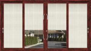 Double Glazing Interior Aluminum Frame Sliding Doors pictures & photos