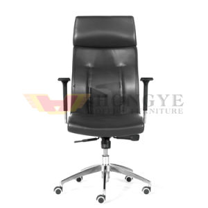 Aluminum Legs with Durable Wheels Executive Office Leather Chair for Office Furniture pictures & photos