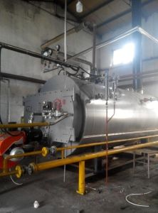Wns Fire Tube Oil Fired Steam Boiler pictures & photos