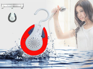 Waterproof Hook Bluetooth Shower Speaker& Auto FM Shower Radio pictures & photos