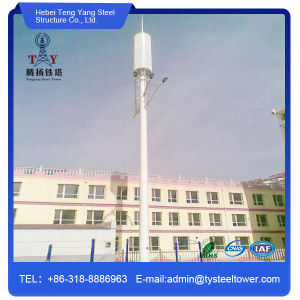 Steel Galvanized Single Tube Tower for Telecom pictures & photos