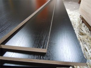 A Grade Black Color Melamine Laminated Plywood From China Manufacturer pictures & photos