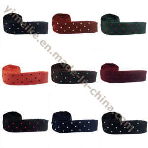 2016 Newest Korean Style Good Quality Dotted Embroidered Knit Ties pictures & photos