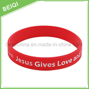 Factory Supply Custom Rubber Wristbands pictures & photos