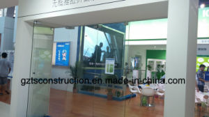 Frameless Glass Folding Door Made in Guangzhou pictures & photos