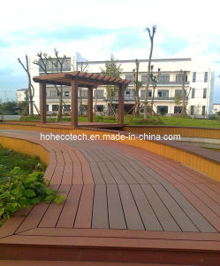 Woodgrain Wood Plastic Composite WPC Deck Flooring (HD146S21) pictures & photos